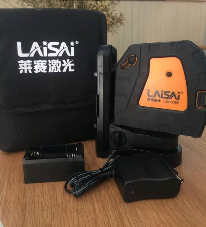 Máy cân bằng laser Laisai LS 609S mang lại kết quả đo chính xác trong thời gian nhanh nhất